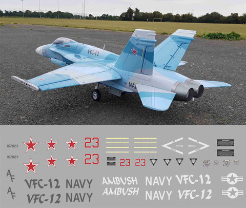 F-18 VFC-12 Graphics Set
