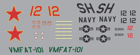 F-18 VMFAT-101 Graphics Set