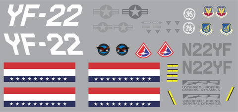 F-22 N22YF Graphics Set
