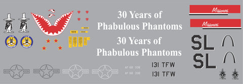 F-4 30 Years or Phabulous Phantoms Graphics Set