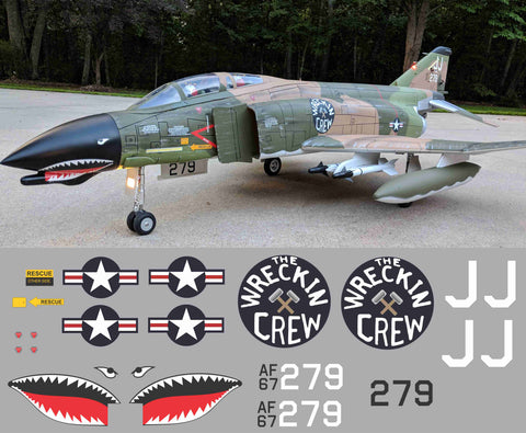F-4 Phantom Wrecking Crew Graphics Set