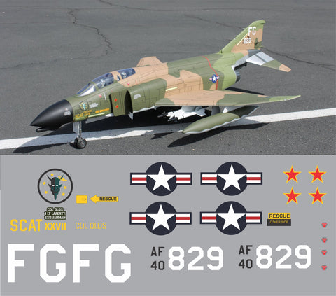 F-4 Phantom Col Olds Scat XXVII Graphics Set