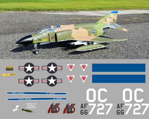 F-4 Phantom 13th TFS Casper Graphics Set
