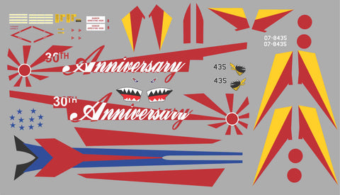 F-4 Phantom Japanese 30th Anniverary Graphics Set