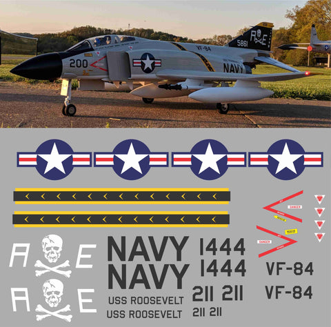 F-4 Phantom Jolly Rogers VF-84 Graphics Set