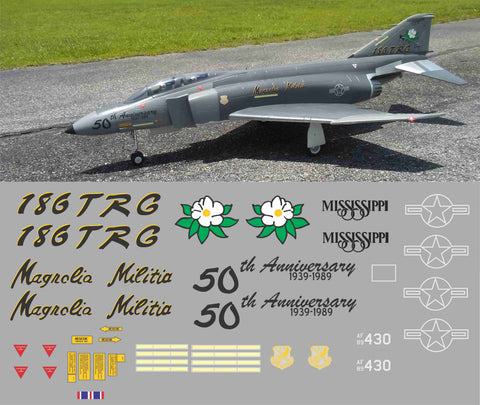 F-4 Phantom Magnolia Militia Graphics Set