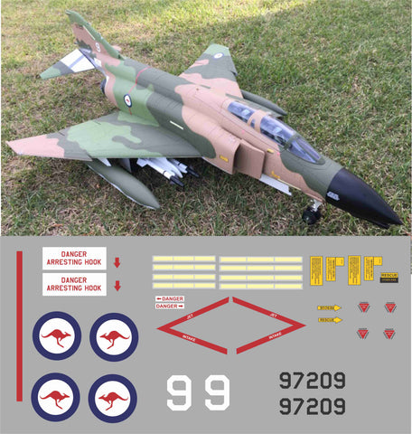 F-4 Phantom RAAF #9 Graphics Set