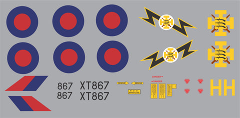 F-4 Phantom XT867 Graphics Set
