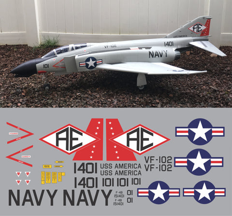 F-4 Phantom VF-102 Graphics Set