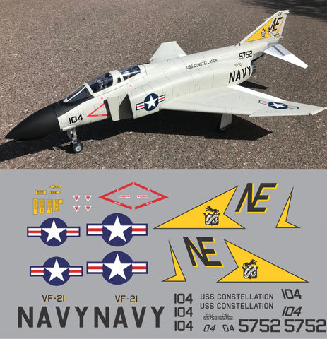 F-4 Phantom VF-21 Graphics Set