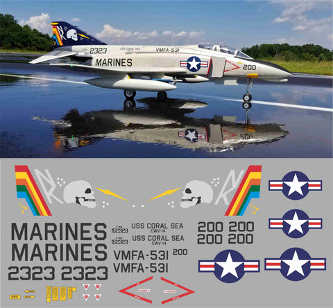 F-4 Phantom VMFA-531 Graphics Set