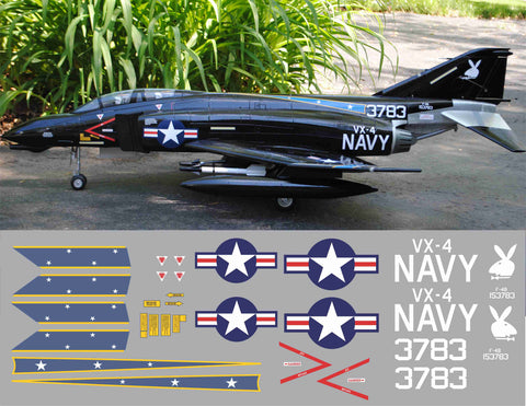 F-4 Phantom VX-4 Black Bunnies Graphics Set