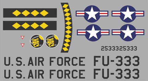 F-86 FU-333 Graphics Set