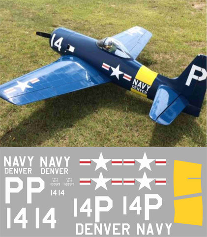 F8F Bearcat #14 Denver Graphics Set