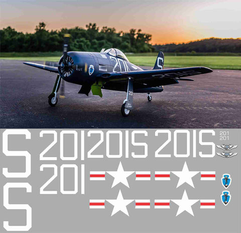 F8F Bearcat 201 S CAF Graphics Set