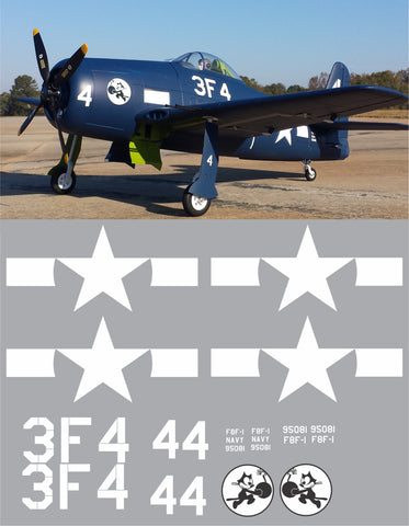 F8F-1 Bearcat VF-3 Graphics Set