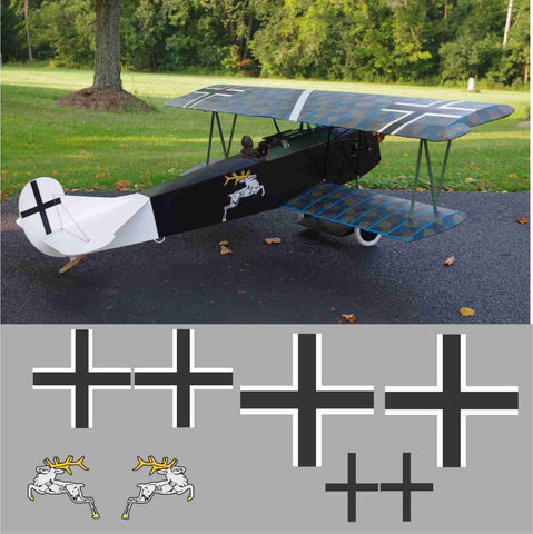 Fokker DV.II White Stag Graphics Set
