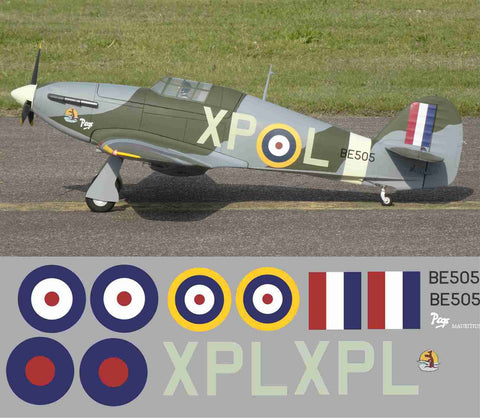 "Hurricane ""Pegs"" XPL  BE505"
