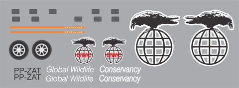 Grumman HU-16 Albatross  Global Wildlife Conservancy Graphics Set