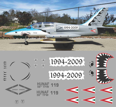 L-39 Hungarian Airforce Graphics Set