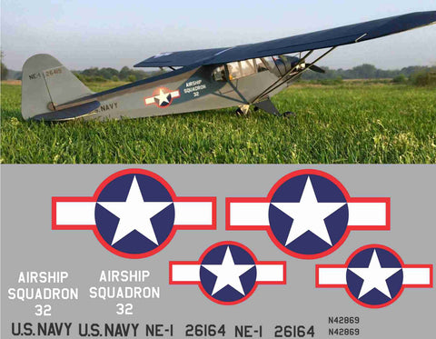 L-4 Grasshoper Airship Squadron #32 Graphics Set