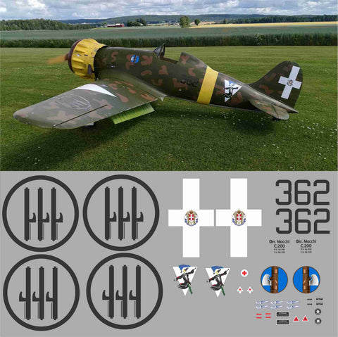 Macchi C.200 #362 Graphics Set