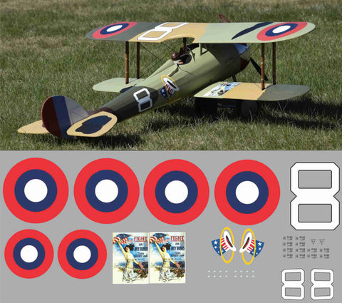 "Nieuport 28 ""Buy War Bonds"" Graphics Set"