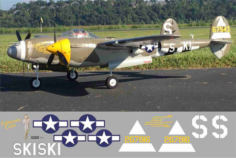 P-38 California Cutie Graphics Set