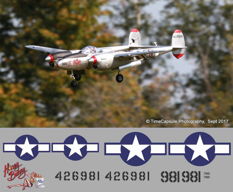 P-38 Honey Bunny Graphics Set