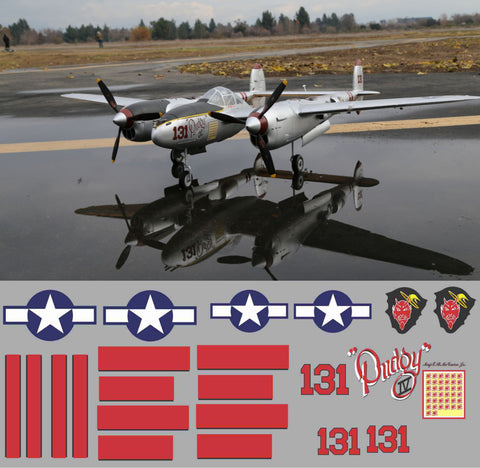 P-38 Pudgy IV Graphics Set