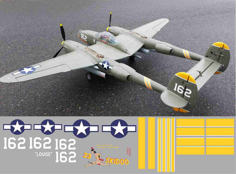 P-38 Skidoo Graphics Set