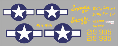 P-39 Snooks 2nd Graphics Set