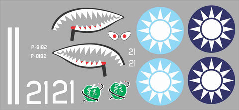 P-40 1st PS, Adam And Eve #21 Graphics Set