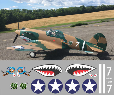 P-40 1st PS, Adam And Eve #7 Graphics Set
