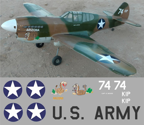 P-40 Arizona Graphics Set