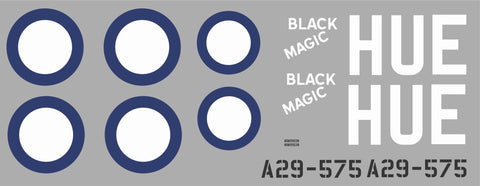 P-40 Black Magic Graphics Set