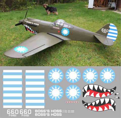 P-40 Boss Hoss Graphics Set