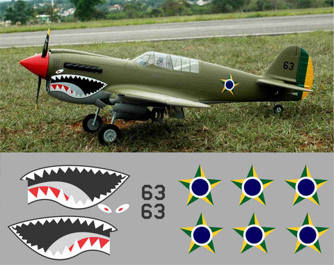 P-40 Brazil #63 Graphics Set