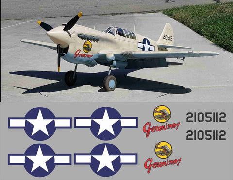 P-40 Geronimo Graphics Set