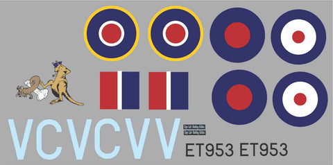 P-40 RAAF 3 Sqn CV V Graphics Set