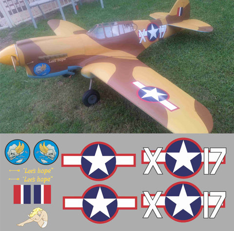 P-40 Lee's Hope Graphics Set