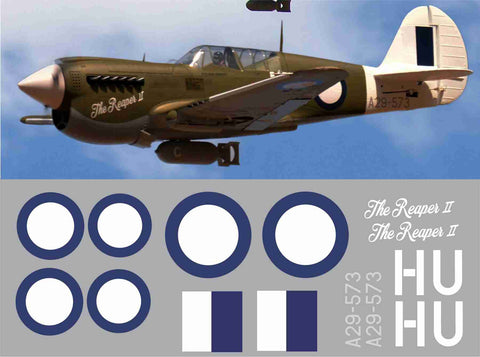 P-40 The Reaper II Graphics Set