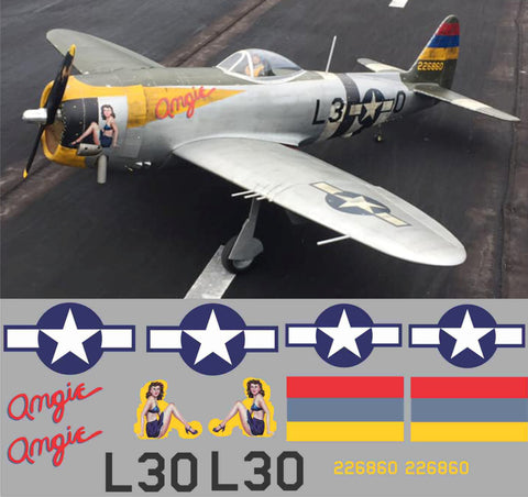 P-47 Angie Graphics Set
