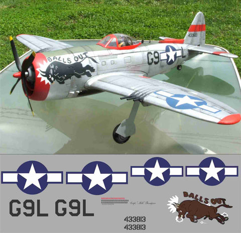 P-47 Balls Out Graphics Set