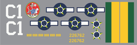 P-47 Brazil Air Force C1 Graphics Set