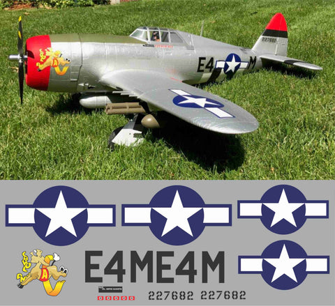 P-47 Carol Ann Graphics Set