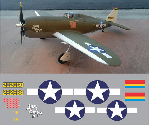 P-47 Fiery Ginger IV Graphics Set