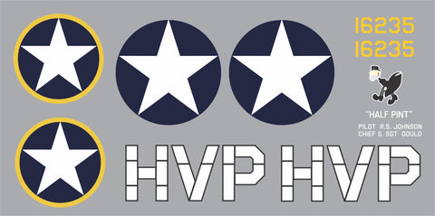 P-47 Half Pint Graphics Set