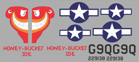P-47 Honey Bucket Joe Graphics Set