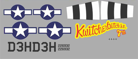 P-47 Kwithcherbitchin Graphics Set